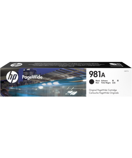 HP 981A  Cartridge Black Original