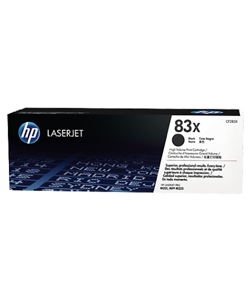 HP 83x High Yield Black Toner