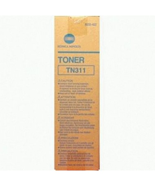 Konica Minolta High Yield,TN-311 Black Toner Cartridge 8938-402