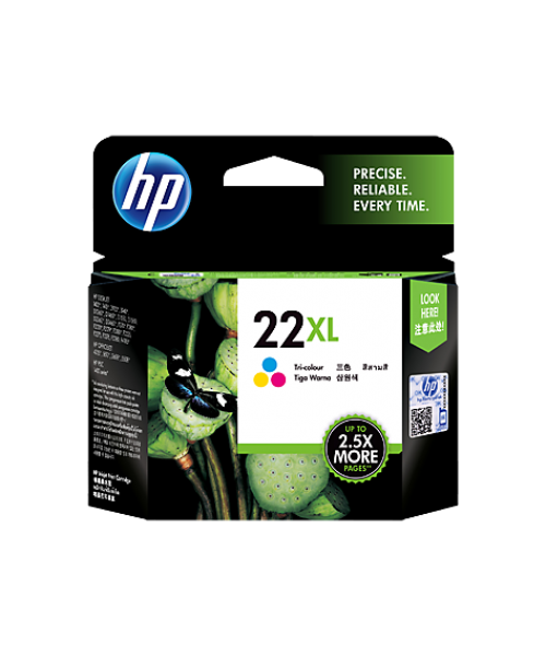 HP 22A TRICOLOUR INK CARTRIDGE
