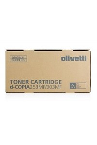 Ollivetti Toner D-Copia 253 MF, D-Copia 303 MF Black Toner