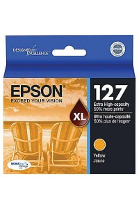 Original Epson 127 Extra High Yield Yellow Ink T127420